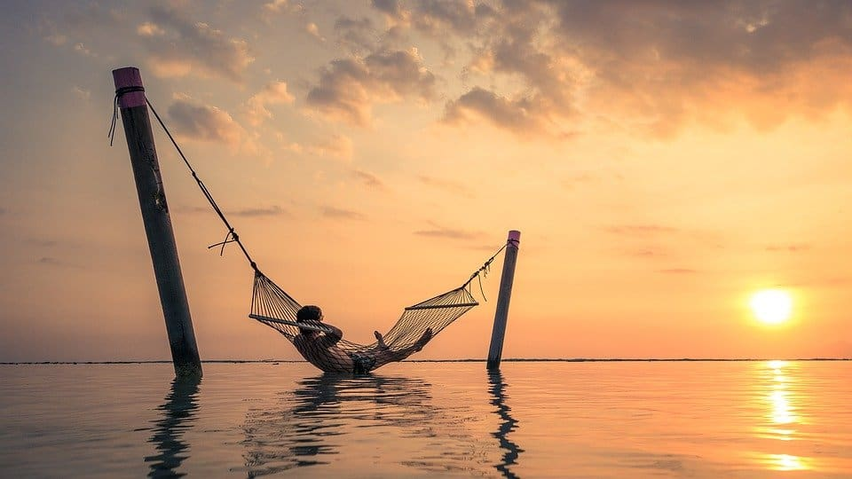 Hammock without trees
