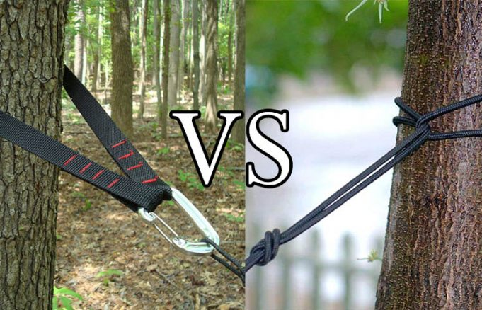 Tree Straps Vs Raw Rope For Hammock Outdoor Federation
