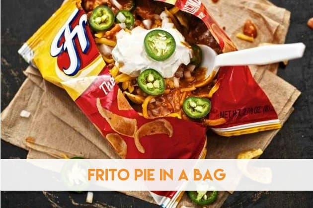 Frito Pie in A Bag