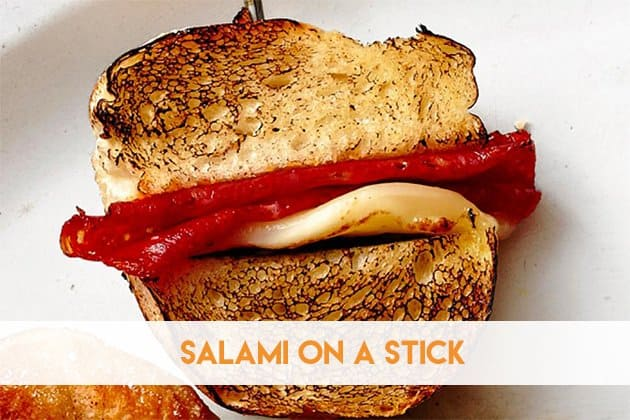 Salami on A Stick