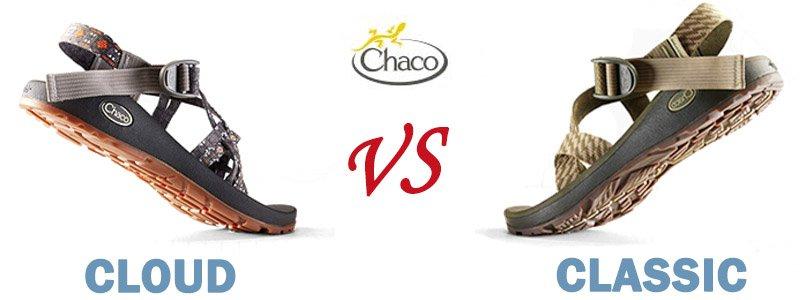 Chaco Cloud Vs Classic