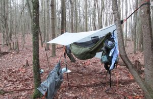 Hammock Tarp - Staying Dry When Hammock Camping