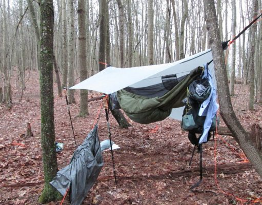 Hammock Tarp - Staying Dry When Hammock Camping