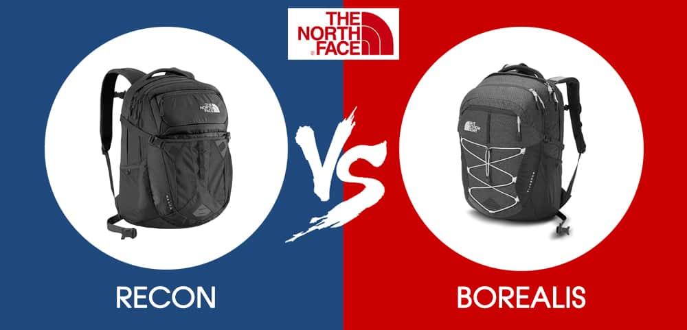 314296888 Backpack Faceoff : North Face Borealis vs Recon - Outdoor Federation
