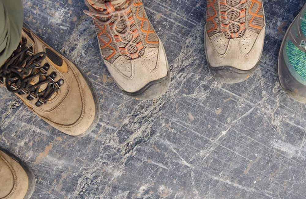 Best type of hiking footwear