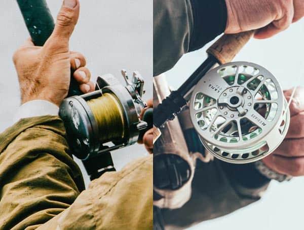 Fly fishing vs bait fishing