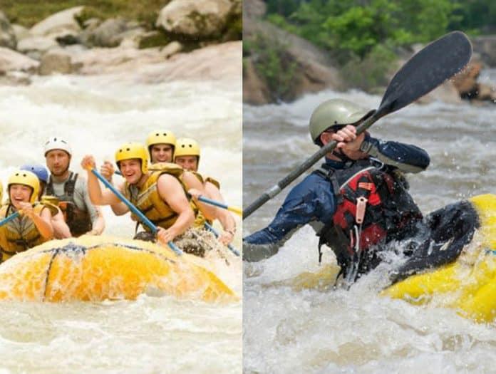 Canoeing Versus Rafting
