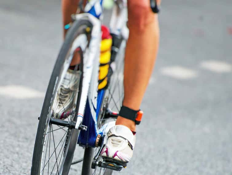 can cycling cause shin splints