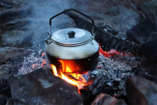 Using Traditional Kettle to boil water