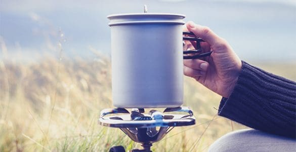 Ways to boil water when camping