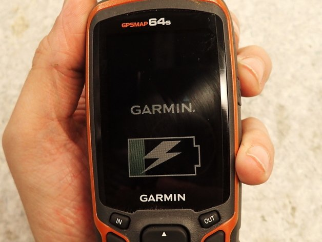 Garmin 64s when charging